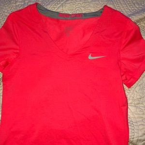 Women's small Nike pro dry fit tee shirt.